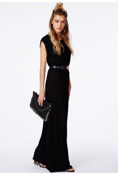 Get this awesome #maxidress now! Would look good casually or worn with some glam heels  accessories on a night out. #black #dress #maxi #sales #sale