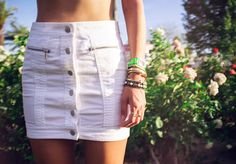 A/X Denim Skirt