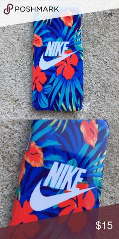 Nike Hawaiian Floral Case for any iPhone!! Brand New in the packaging ! High Quality dope printed iPhone case !3D printed design all around the case. Price is firm unless looking for bundle deals. Then message me! Same or next day shipping with USPS T