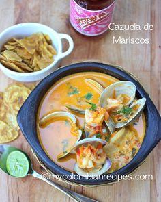 SEAFOOD STEW (CAZUELA DE MARISCOS) | My Colombian Recipes