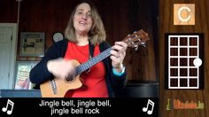 Jingle Bell Rock Ukulele Tutorial - 21 Songs in 6 Days: To learn how to play the ukulele in easy ways visit us at - http://ukulele.io/free-stuff-offer/