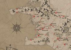 ArtStation - Fantasy Iceland Map, Milan Vasek
