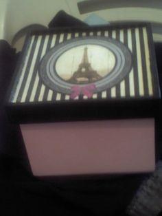 caja de Souad Scrapbook, Beauty Box, Vintage Wood, Printables, Country, Frame, Home Decor, Beautiful Images, Boxes