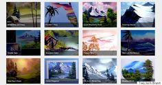 Κάποιος (καλός άνθρωπος) έβαλε και τους 403 πίνακες του Bob Ross σε ένα site