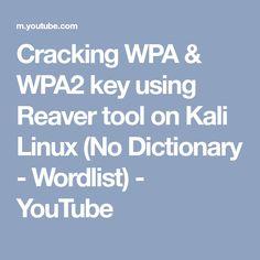 Cracking WPA & WPA2 key using Reaver tool on Kali Linux (No Dictionary - Wordlist) - YouTube