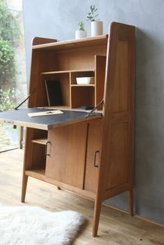 secr taire ann es 50 viktor secr taire bureau 1m10 1m60 pinterest. Black Bedroom Furniture Sets. Home Design Ideas