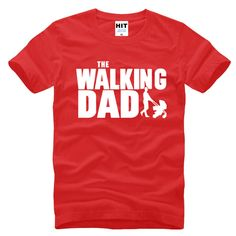 The Walking Dad Fathers Day Gift Men s Funny T Shirt T Shirt Men 2016 New. Click visit to buy #T-Shirts