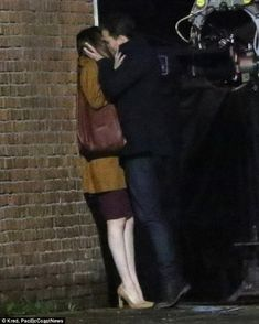Steamy: Jamie Dornan and Dakota Johnson put on a steamy display as they filmed a sizzling kiss scene for Fifty Shades Darker in Vancouver on Thursday reprising their roles ofChristian Grey and Anastasia Steele