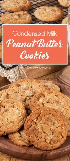 Condensed Milk Peanut Butter Cookies Is A Chewy Moist And Soft Heavenly Recipe That Condensed Milk Recipes Cookie Recipes Condensed Milk Peanut Butter Recipes