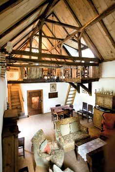The basic interior of the Prince's house in Zalánpatak Princes House, Rustic Home Design, Log Cabin Homes, Design Case, House Design, Interior Design, House Styles, Home Decor, Romania People