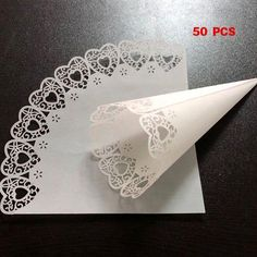 Paper Doily Crafts, Doilies Crafts, Paper Doilies, Paper Lace, Wedding Candy, Wedding Party Favors, Wedding Gifts, Doily Wedding, Small Wedding Receptions