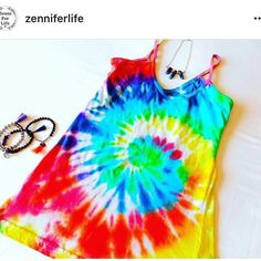 Awesome Tie Dye and jewelry from @zenniferlife ZenniFerLife.com coming soon! #zenniferlife #jewelry #clothing #gemstones #tiedye #necklaces #bracelets #tassels #zen #yoga #love #namaste #chakras #comingsoon #mala #beads #boho #hippie #gypsy #art #design #buddha #love #peace #handmade #lookinggood #yogi by zenniferlife