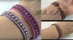 Fancy Lace Bracelet ~ Seed Bead Tutorials - new season bijouterie Jewelry Tags, Seed Bead Jewelry, Crystal Jewelry, Beaded Jewelry, Jewelry Accessories, Handmade Jewelry, Custom Jewelry, Seed Beads, Jewelry Ideas