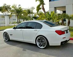 BMW F01 7 series white slammed                                                                                                                                                                                 More