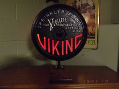 sprinkler alarm bell cover with lights. by SOSsalvage on Etsy