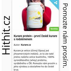 Podpořte prosím výrobu Kurare proteinu, ať už sdílením nebo i zakoupením některé z odměn. Ale, Protein, Shampoo, Personal Care, Workout, Author, Self Care, Ale Beer, Personal Hygiene