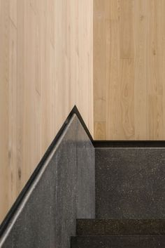 Bloomberg Hong Kong Office | Neri&Hu Design and Research Office | Stairs Handle Detail | Detail Design
