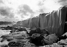 Wrapped Coast by Christo and Jeanne Claude #art