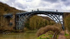 the old iron bridge in Ironbridge by chbustosr. Please Like http://fb.me/go4photos and Follow @go4fotos Thank You. :-)