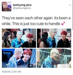 Well Taehyung is now taller than Baekhyun.Btw where's the father?We need to complete the hyun family!