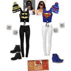 Not even the biggest fan of batman but LOVE THIS OUTFIT!! Still need a Superman or woman!!