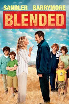 Blended (2014) Movie Poster - Adam Sandler, Bella Thorne, Drew Barrymore #Blended, #2014, #MoviePoster, #Comedy, #FrankCoraci, #AdamSandler, #BellaThorne, #Poster, #DrewBarrymore