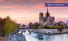 Paris : 1 à 3 nuits avec petits déjeuners et croisière sur la Seine en option à l'Hôtel Le Canal pour 2 personnes