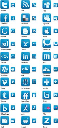 Free Social Media Network Icons     http://viettelidc.com.vn