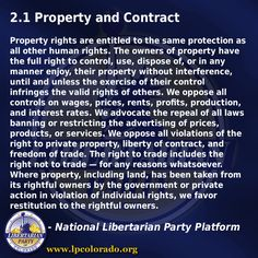 Property and Contract