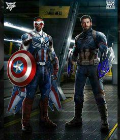 Falcon & Captain America