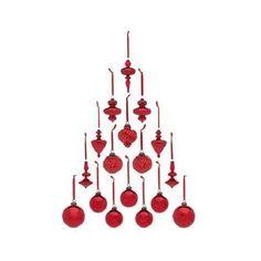 COLIN-COWIE-17-Piece-MERCURY-GLASS-Christmas-Tree-ORNAMENTS-SET-U-Choose-Color