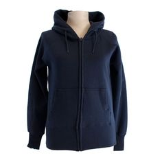 Zipped hoodie sparkle print - different colors, navy blue and grey, 100% cotton, silver sparkle print on the back