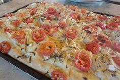 Receita de Pizza da Vovó com Biomassa - receitas, vídeos e dicas para uma alimentação saudável