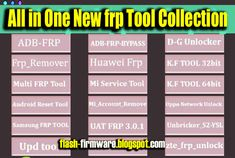 DownloadDongle 2019 Frp Remover Tool Feature: Read INfo Reboot