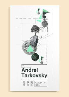 Andrei Tarkovsky on Behance