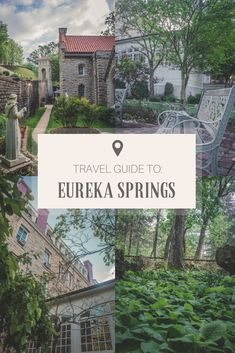 Eureka Springs is a drop-dead gorgeous town in Northern Arkansas, near the Ozark Mountains. If you're looking for a comprehensive travel guide to Eureka Springs, this is it. From what to eat to where to stay to what to do, this Eureka Springs travel guide Vacation Destinations, Dream Vacations, Vacation Spots, Holiday Destinations, Arkansas Vacations, Places To Travel, Places To Visit, Eureka Springs Arkansas, Travel Usa