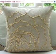 ON SALE Decorative Euro Sham Covers 26x26 by TheHomeCentric, $52.47