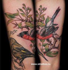bird tattoo on tumblr