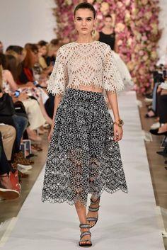 オスカー·デ·ラ·レンタ春2015 6292ファッションブログ