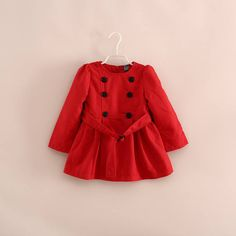 Milky White Cute Rose Coat for your little girls coatsforkids