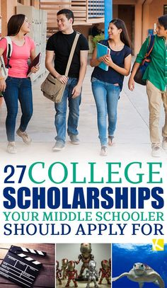 27 College Scholarships Your Middle Schooler Should Apply for