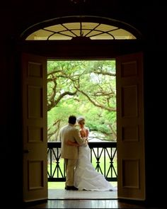 Our wedding at Oak Alley