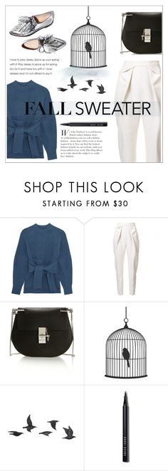 """""""Untitled #186"""" by haaifaa ❤ liked on Polyvore featuring 3.1 Phillip Lim, Delpozo, Loeffler Randall, Chloé, Jayson Home and Bobbi Brown Cosmetics"""