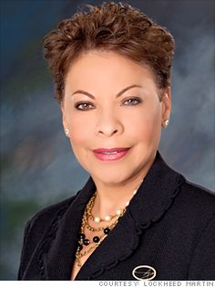 34. Linda Gooden  EVP, Information Systems & Global Solutions  Lockheed Martin  2011 rank: 33  Age: 59  Lockheed's information technology unit, which counts the FAA and Department of Energy as clients, saw 2011 sales drop as work associated with the U.S. Census ended. Her business is bigger in terms of sales than fellow EVP Maguire's, but Gooden's operating margin is lower.