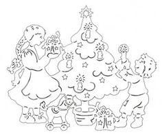 дети с елкой