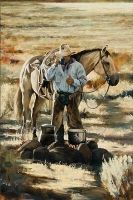 Any thing western. Cowboys, cowgirls, horses and anything else I like. Cowboy Images, Cowboy Pictures, Cowboy Pics, Real Cowboys, Cowboys And Indians, Cowboy Horse, Cowboy Art, Westerns, Southwest Art