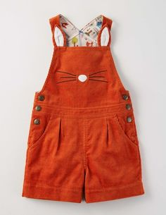 We love these fantastic Mrs. Fox overalls from Mini Boden