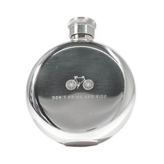 Hintd - Citi Bike Insider Don't Drink and Ride 3oz Flask