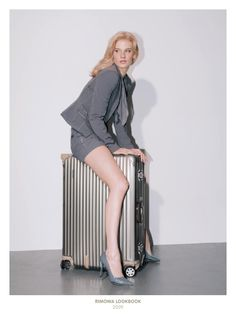 Rimowa Luggage. German made. Ultra light and strong.