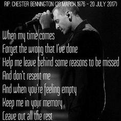 Chester Bennington R.I.P. ❤